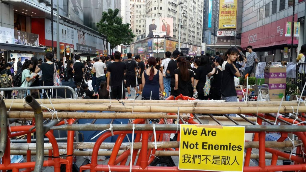 中国因素与极度资本运作下的新闻专业,谁是敌人? 摄影/爱港人士