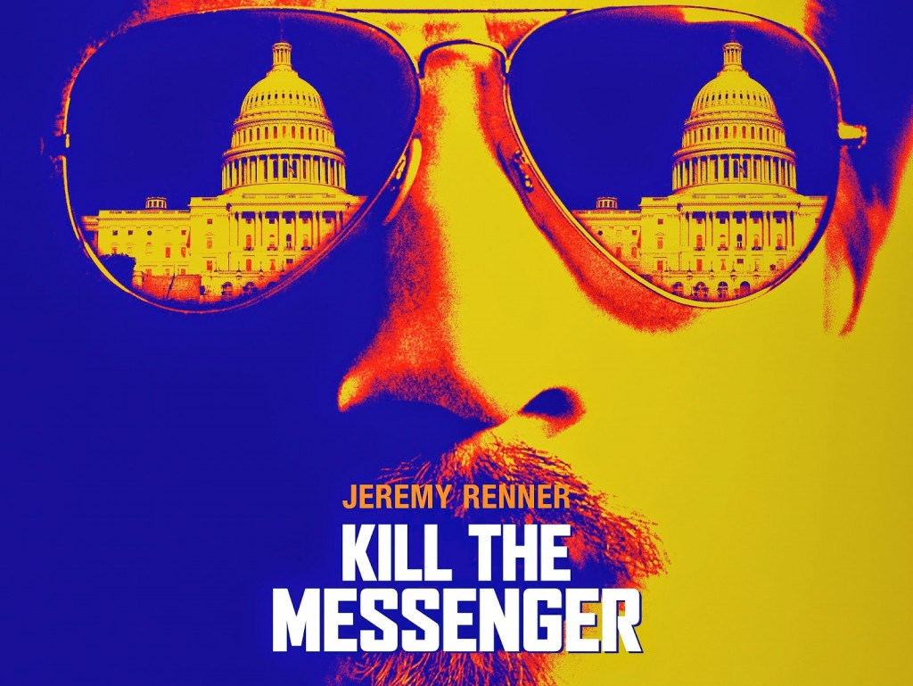 好萊塢電影《殺死信差》(Kill the Messenger)海報