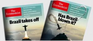 對比經濟學人2009年封面