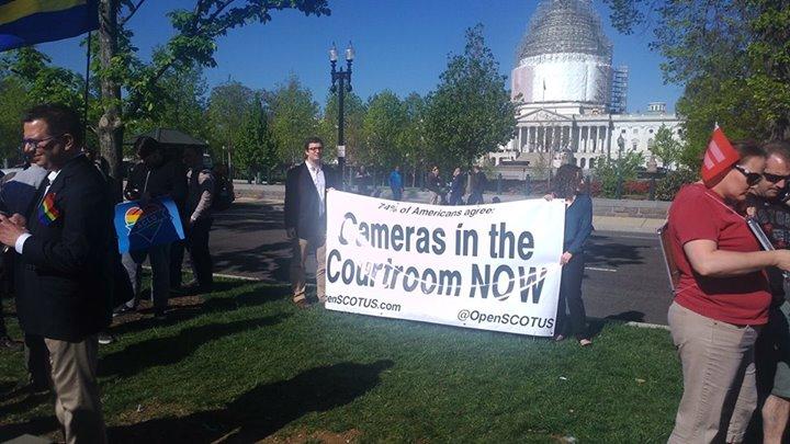 法庭開放錄影的訴求