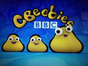 CBeebies每段節目一開始的logo/作者提供