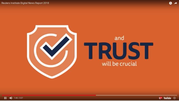 路透新聞社指出:信任為要