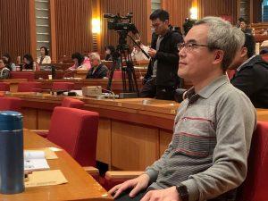 媒體改造學社理事長、中正大學傳播系教授羅世宏認為,擁有健全的公共媒體將有助於提升台灣整體媒體環境。(攝影/賴昀)