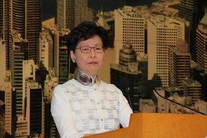 香港特首林鄭月娥錯誤引用已故南非總統曼德拉沒有說過的「名言」,遭批評成為假消息發佈者。圖片授權:public domain (VOA)