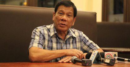 菲律賓總統杜特蒂。圖片來源:菲律賓總統聯絡辦公室(Public Domain)